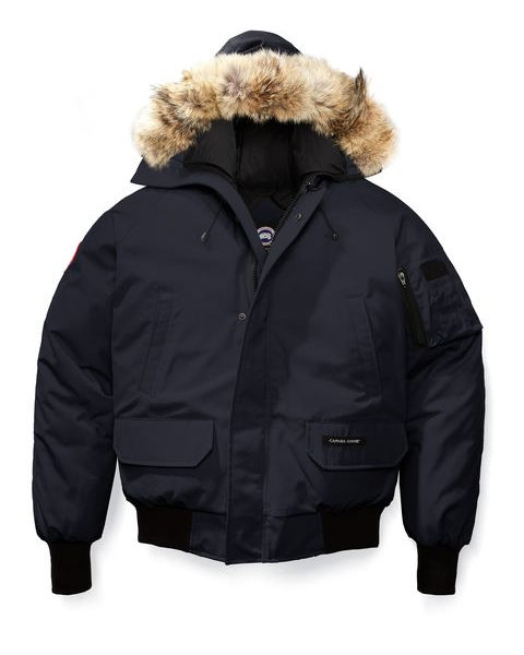 Canada Goose Chilliwack Bomber 7950M – Navy Parka for UK Mens