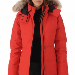 289408f66 Canada Goose Chelsea Parka - Women's - Red