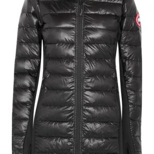 36a458c62c6 ... Canada Goose Hybridge Lite hooded quilted shell down coat - Women's -  Black ...