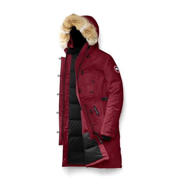 Canada Goose® Women s Kensington Parka - Colour  niagara-grape ... ae2ae3ca3